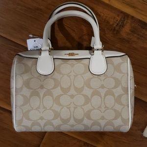 Coach mini satchel purse